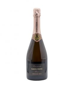 bpi2 franciacorta docg extra brut rose barone pizzini fronte
