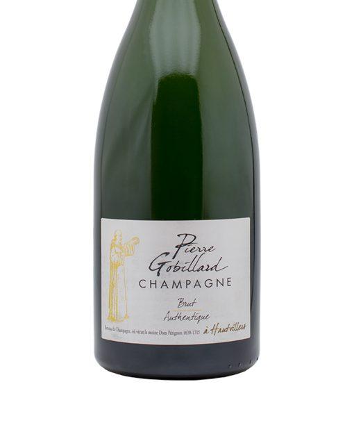 gob1m champagne brut authentique magnum pierre gobillard etichetta