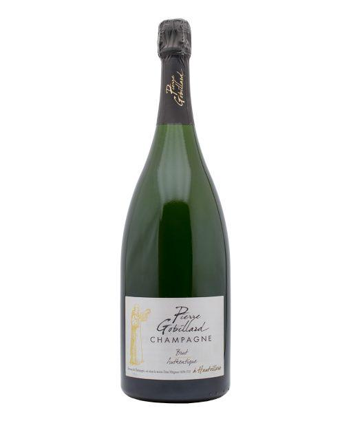 gob1m champagne brut authentique magnum pierre gobillard fronte