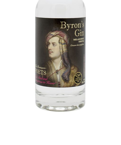 gin byron's melancholy thistle spey distillery