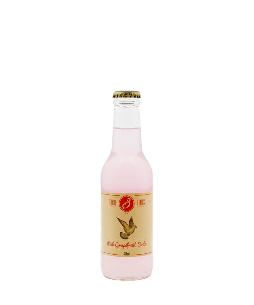 pink grapefruit soda 20 cl three cents