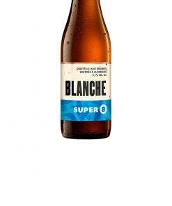 super 8 blanche 33 cl haacht