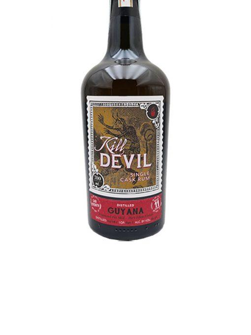 rum guyana 11 yo port ellen finish kill devil