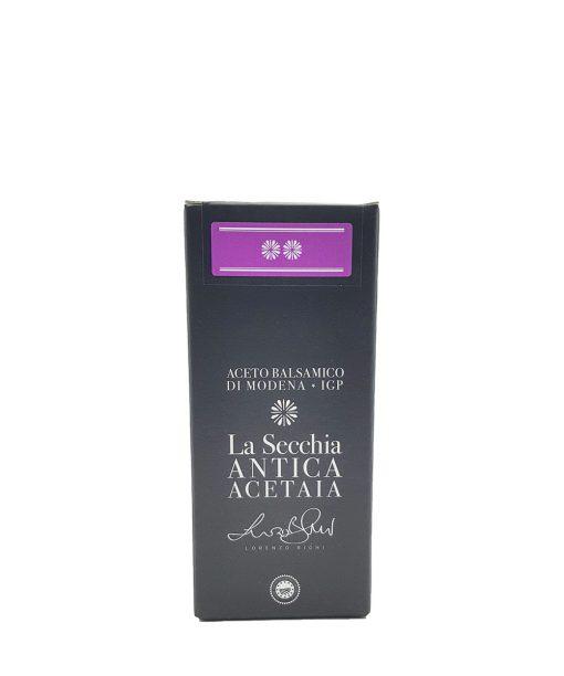 aceto balsamico modena cuvée 8 250 ml acetaia la secchia