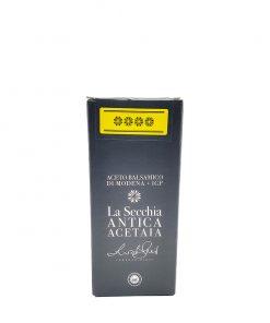 aceto balsamico modena cuvée 16 250 ml acetaia la secchia