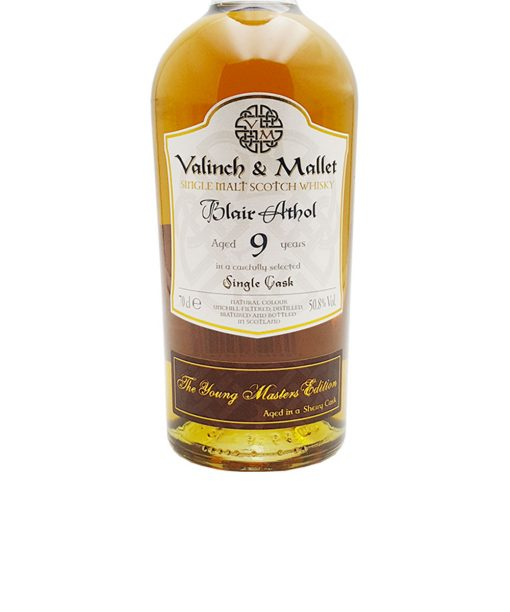 whisky blair athol 9 y.o. valinch & mallet