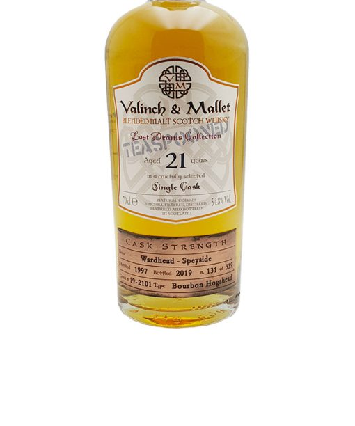 whisky wardhead 21 y.o. valinch & mallet