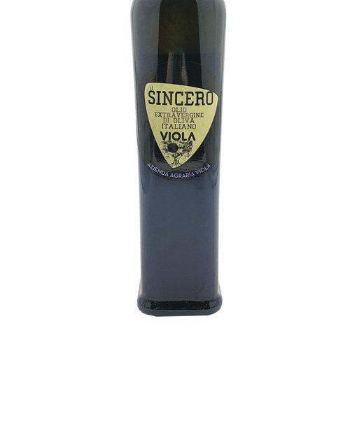 olio extra vergine di oliva sincero 50 cl viola