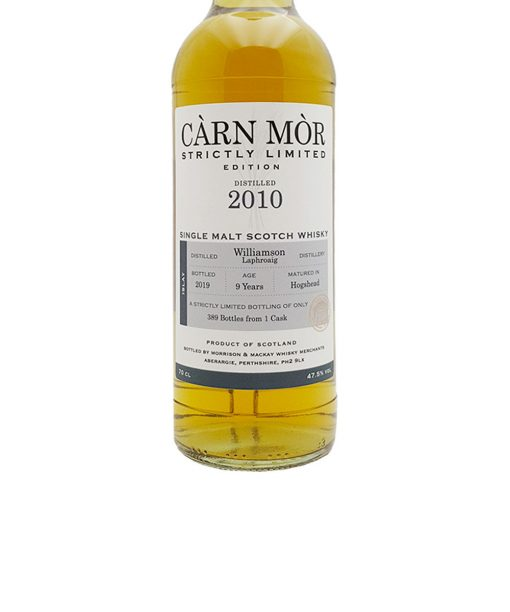 whisky williamoson laphroaig 9 y.o. carn mor