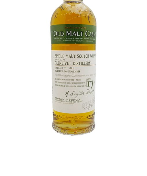 whisky glenlivet 17 y.o. old malt cask douglas laing