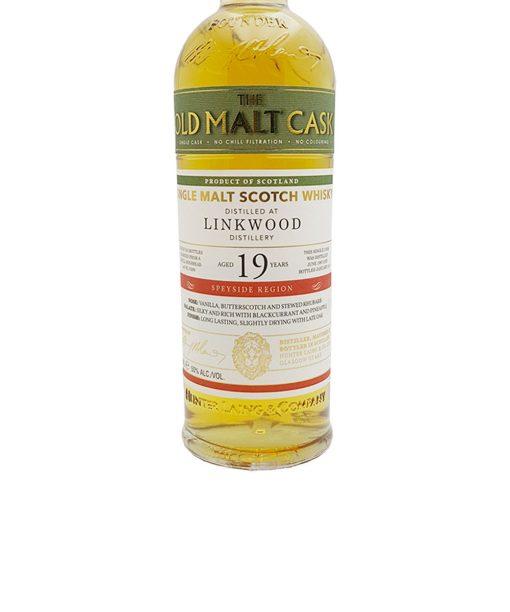 whisky linkwood 19 y.o. old malt cask douglas laing