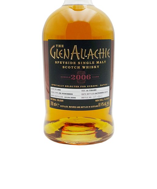 whisky glenallachie 12 y.o. cask 936 glenallachie distillers