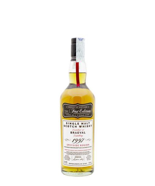 whisky braeval 18 yo hunter laing