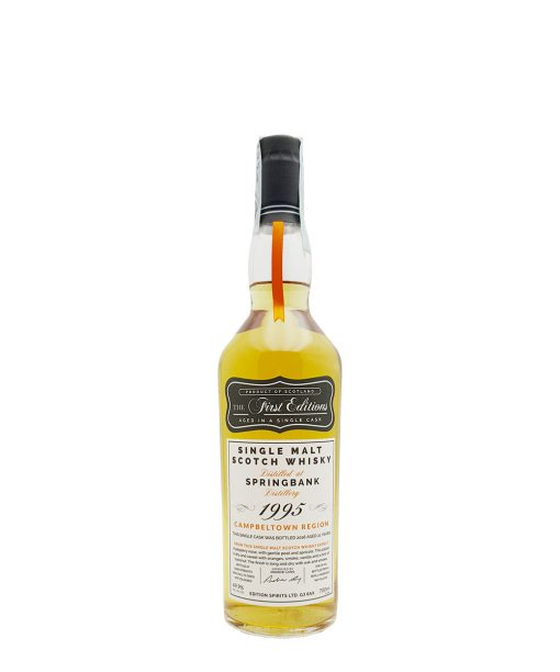 whisky spingbank 21 y.o. hunter laing