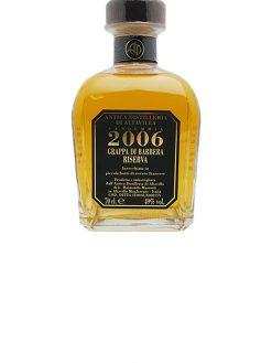 grappa riserva barbera distilleria di alta villa