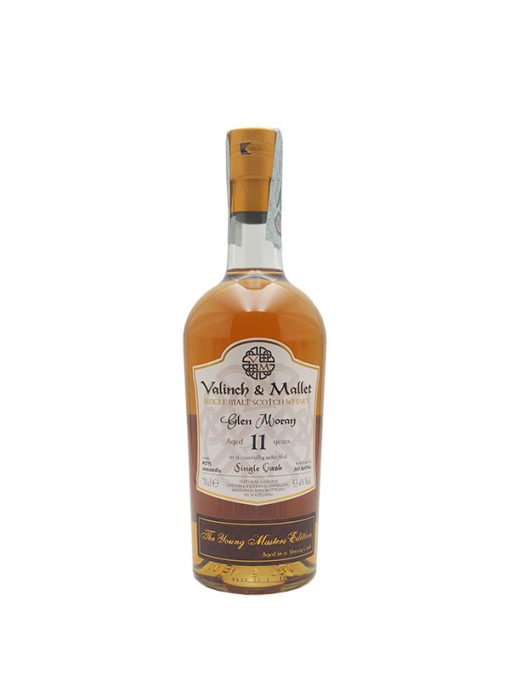 whisky glen moray 11 yo valinch & mallet