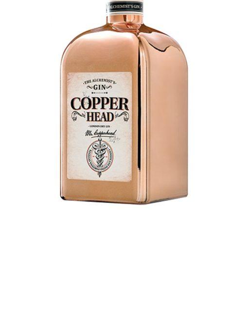COPP1 Copperhead Gin etichetta