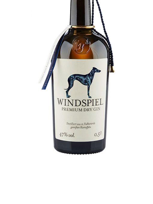 WIND1 Windspiel Premium Dry Gin etichetta