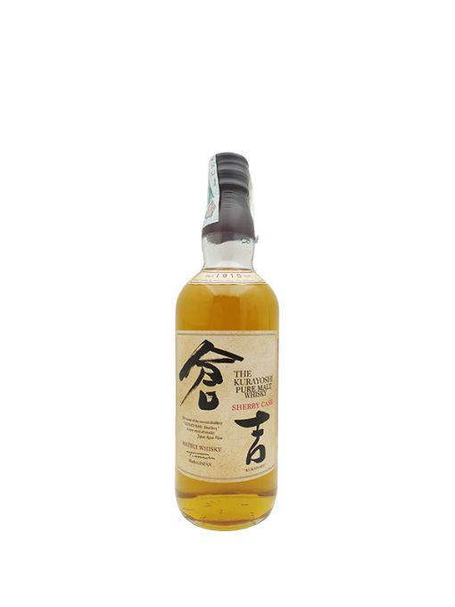 whisky kurayoshi sherry cask 70cl 43%