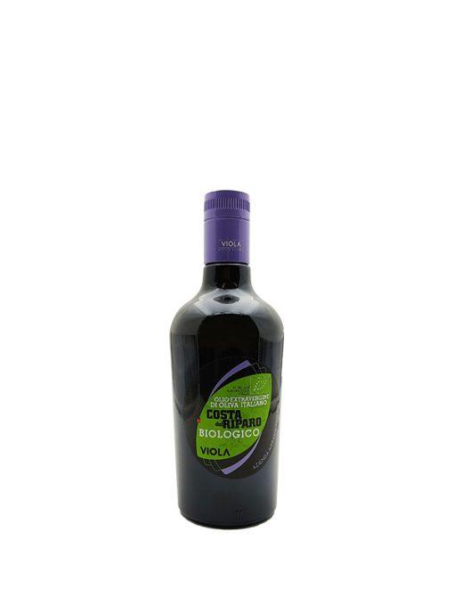 olio extra vergine di oliva costa del ripario biologico 50cl viola