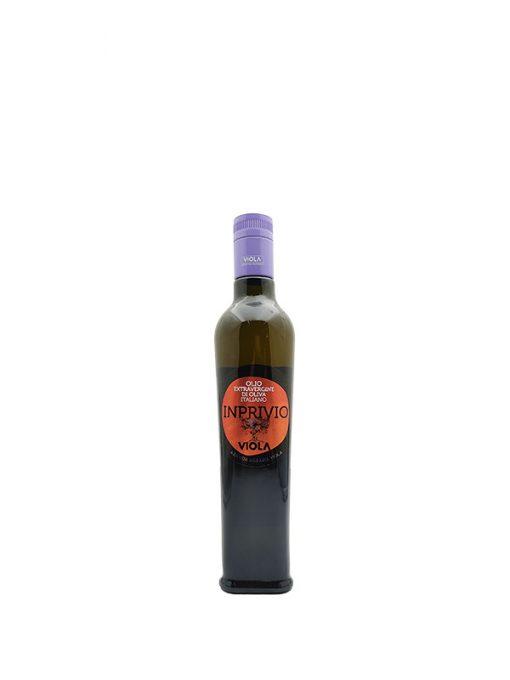 olio extra vergine di oliva inprivio 50cl viola