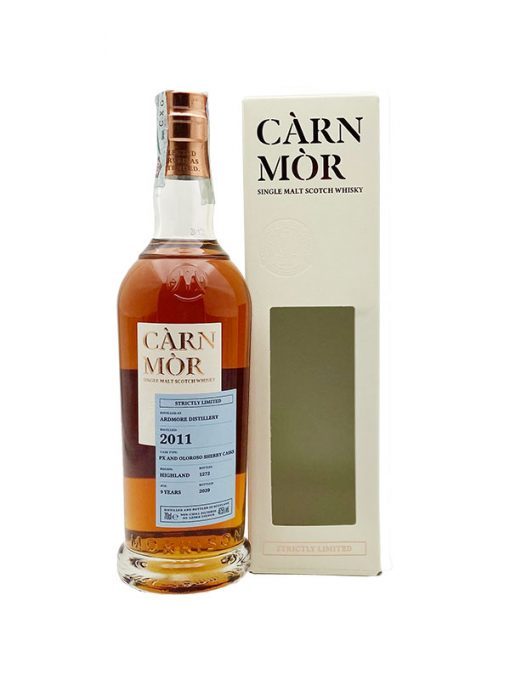 whisky ardmore 9 yo sherry carn mor