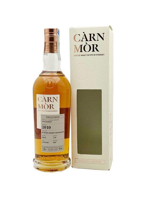 whisky williamson laphroaig 9yo càrn mòr